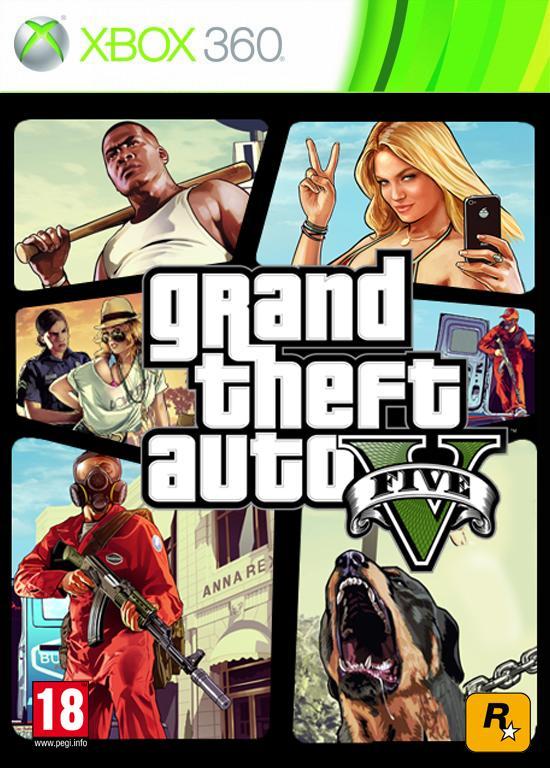 Gta 5 Xbox 360 : Grand theft auto v gta game kopen morgen in huis