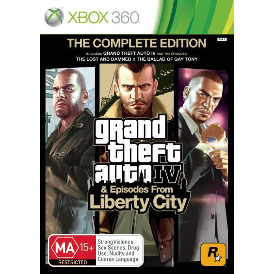 Grand Theft Auto Iv — Tehno